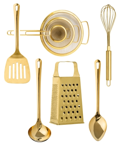 gold-kitchen-utensils