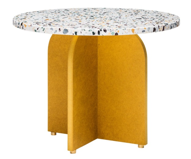 Confetti Colorful Terrazzo Coffee Table By Fish and Pink