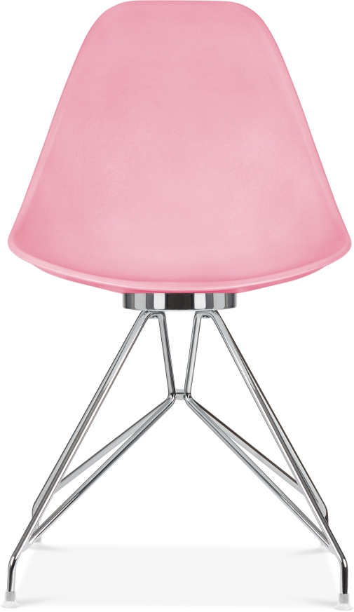 Cult Design Moda Dining Chair CD1 Chrome Legs - Candy Pink