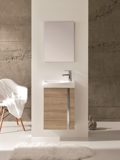 Elegance Bathroom Furniture (Walnut Colour)