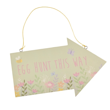 Floral Egg Hunt Arrow