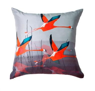 Anna Jacobs Breaking Dawn In Orange Cushion