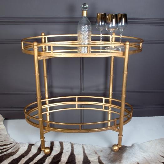 Gilt Mirrored Bar Cart.jpg