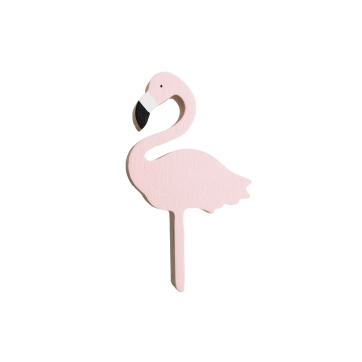 PINK FLAMINGO WALL HOOK