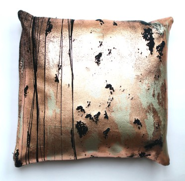 Copper-Print-Cushion