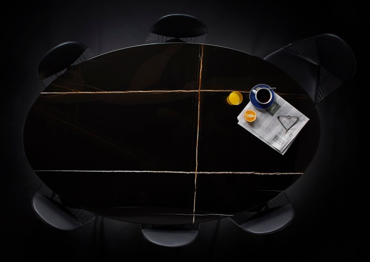 Exclusive Saarinen Table Sahara Noir Marble Edition_available in six variations_The conran Shop_01